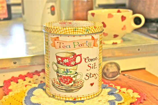 Susan Branch Tea Tin