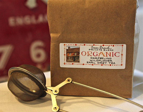 ORGANIC Tea, Susan Branch Private Blend