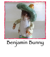 Benjamin Bunny with Shoe Out