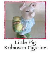Little Pig Robinson Figurine
