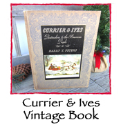 Currier & Ives Vintage Book