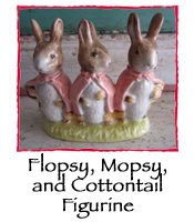 Flopsy, Mopsy, and Cottontail Figurine