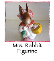 Mrs. Rabbit Figurine