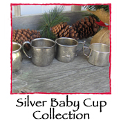 Silver Baby Cup Collection, set of 5