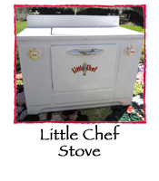 Vintage Little Chef Stove