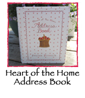 Heart of the Home Address Book (G)