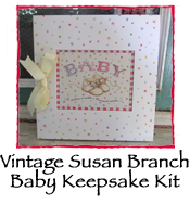 Baby Keepsake Kit, Vintage Susan Branch