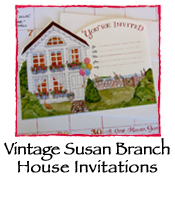 House Invitations, Vintage Susan Branch