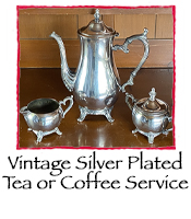 Vintage Silver Plated Tea Service