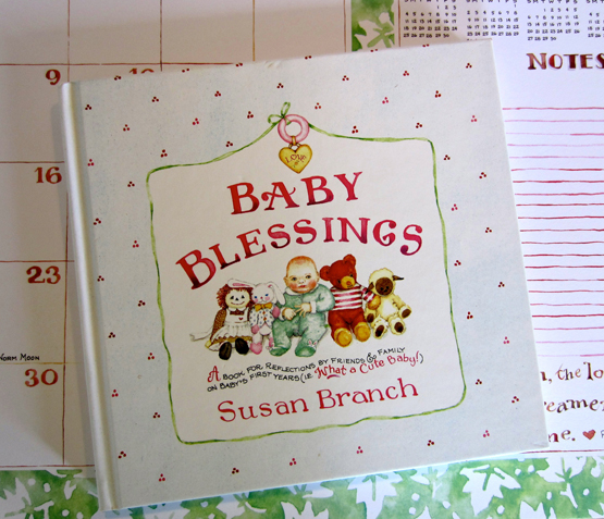 Vintage Baby Blessings Book (G)