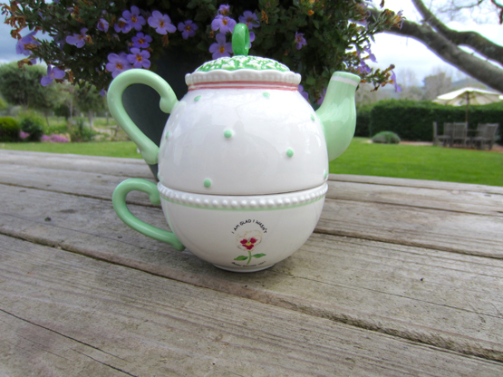 Tea for One, Vintage Susan Branch