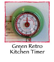 Green Retro Kitchen Timer